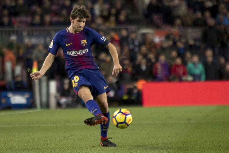 Barcelona med Sergi Roberto carnicer kontraktsperiode er indtil 2022 år