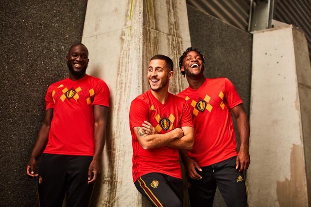 Belgien landshold 2018 World Cup hjem kit udgivet