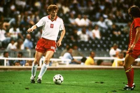 Den Polen landsholds første fodboldstjerne er Zbigniew Boniek