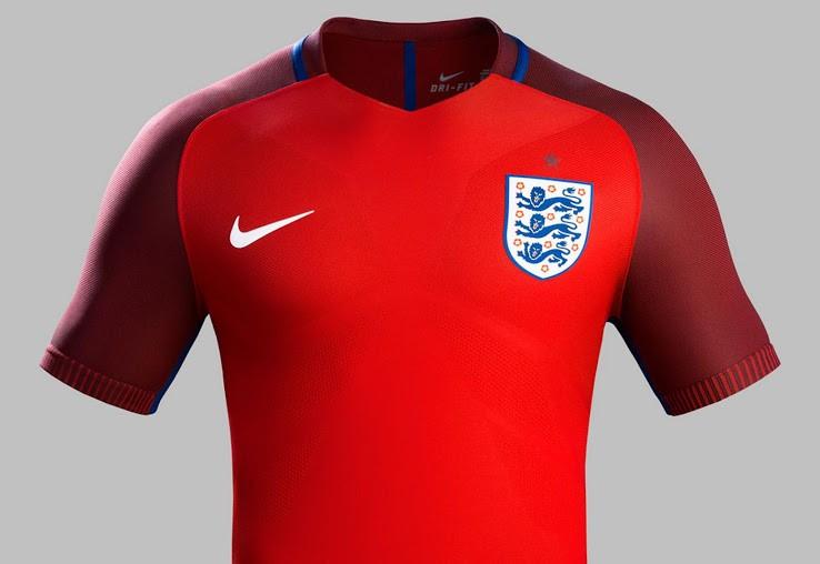 England væk fodbold skjorte spion foto eksponering