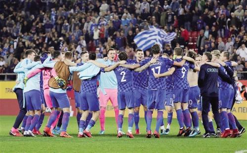 Kroatien holdet er kommet til verdensmesterskabet for femte gang
