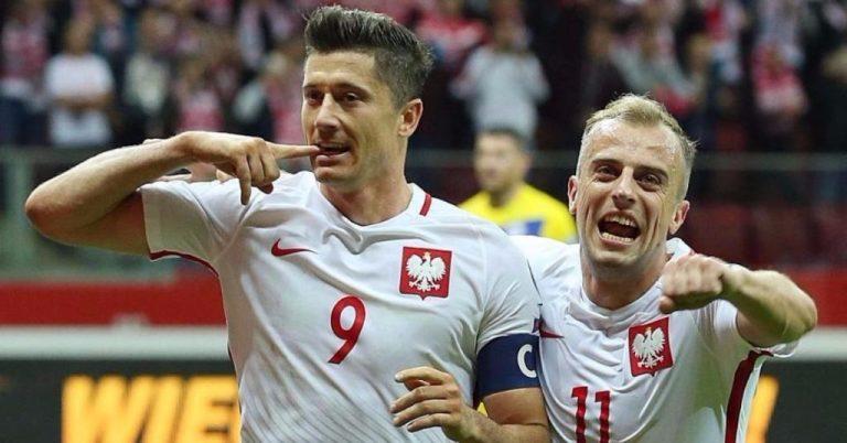 Polen landslag verdensrangering forud for grunden