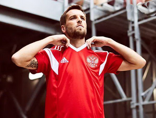 Rusland National Team VM Cup 2018 jersey