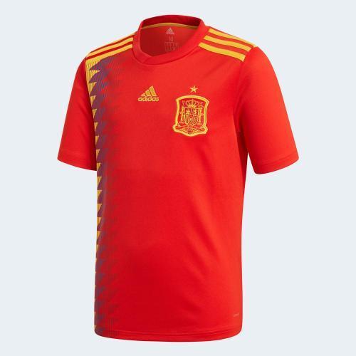 Spanien Landshold VM 2018 hjem kit eksponering