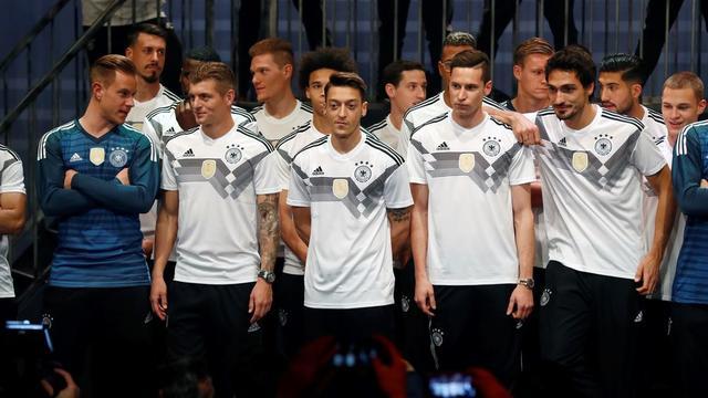 Tysklands nationale fodboldhold er VM-programplanen