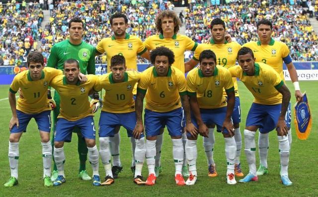 2002 Brasilien holdet trådte ind i verdensmesterskabet